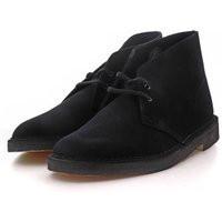 Clarks Originals Desert Boot, Black Sde - 261382277