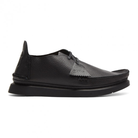 Clarks Originals Black Seven Moccasins - 26148992