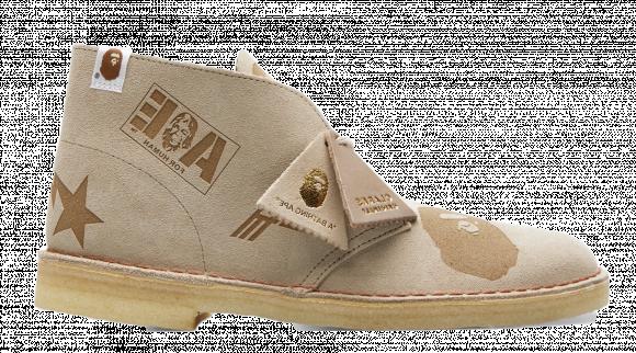 Clarks Desert Boot Bape Grey Embossed - 26149860