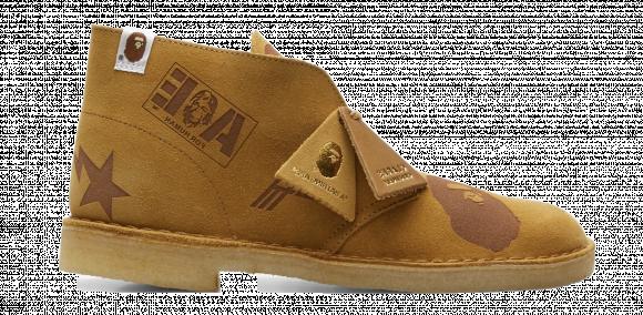 Clarks Desert Boot Bape Oak Embossed - 26149861