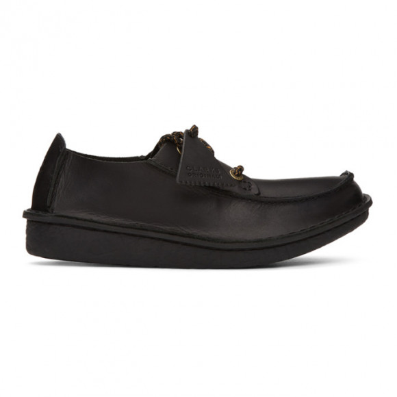 Clarks Originals Black Trek Veldt Moccasins - 26149915