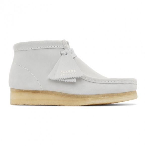 Clarks Originals Grey Wallabee Boots - 26154166