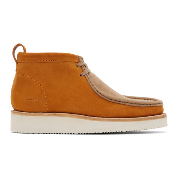 Clarks Originals Tan Wallabee Hike Desert Boots - 26154286