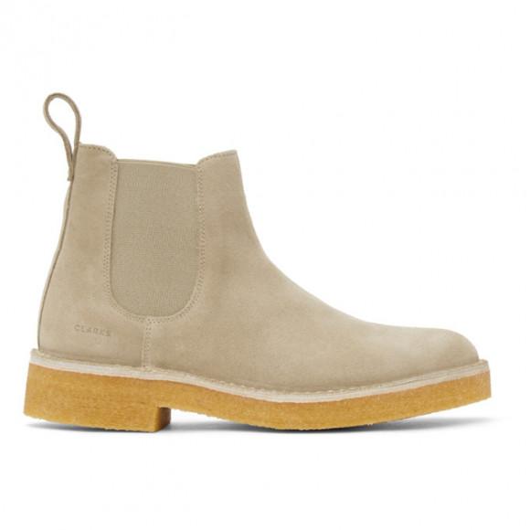 Clarks Originals Beige Desert Chelsea 2 Boots - 26155563