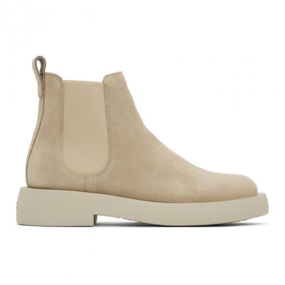 Clarks Originals Beige Suede Mileno Chelsea Boots - 26160856