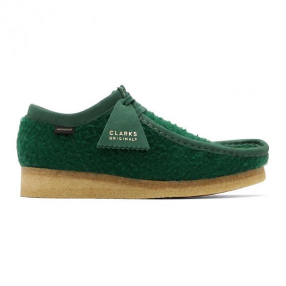Clarks Originals Wallabee Aime Leon Dore Green Casentino Wool - 26160880