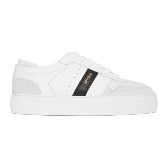 Axel Arigato White and Black Platform Sneakers - 27518