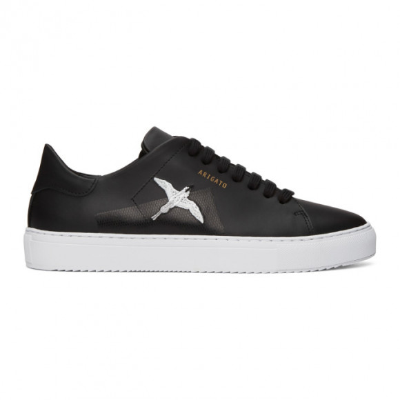 Axel Arigato Black Taped Bird Clean 90 Sneakers - 28484