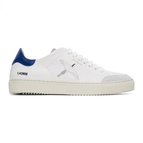 Axel Arigato White and Blue Clean 90 Triple Bird Sneakers - 28522