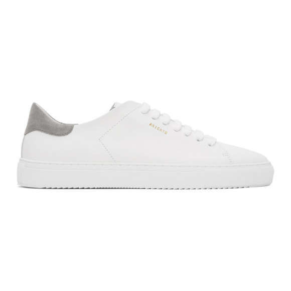 Axel Arigato White and Grey Clean 90 Sneakers - 28530