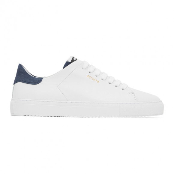 Axel Arigato White and Blue Clean 90 Sneakers - 28550