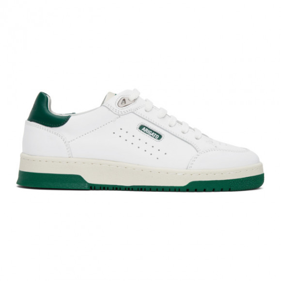 Axel Arigato White and Green Clean 180 Sneakers - 28585