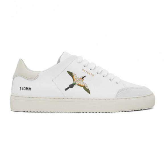 Axel Arigato SSENSE Exclusive White and Pink Birds Clean 90 Sneakers - 28628