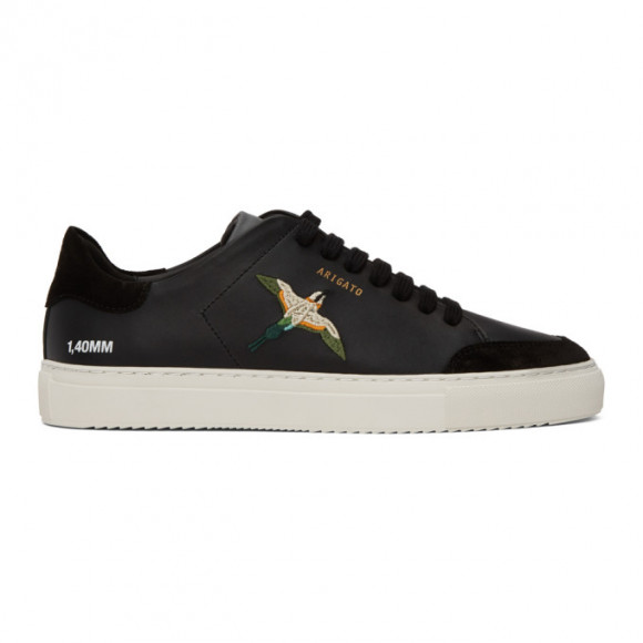 Axel Arigato SSENSE Exclusive Black Bird Clean 90 Sneakers - 28630