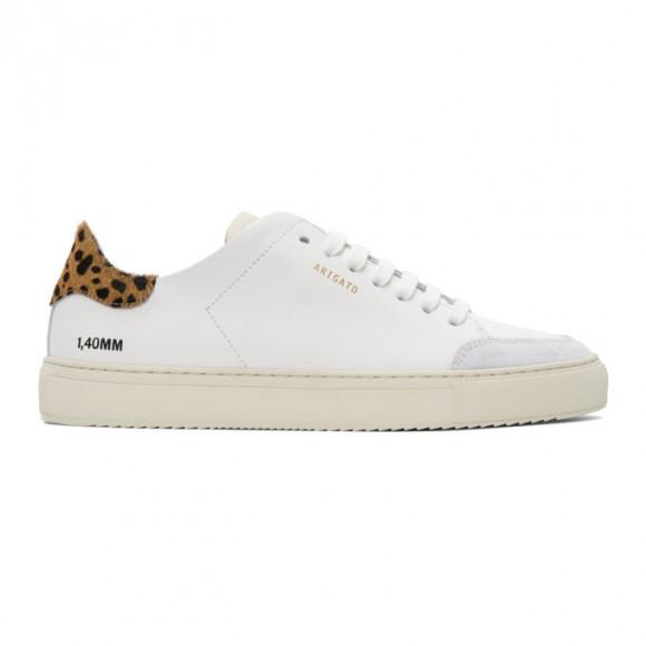 Axel Arigato White Animal Triple Clean 90 Sneakers - 28632