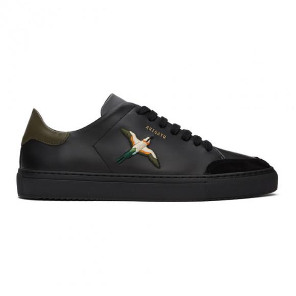 Axel Arigato Black and Khaki Bird Clean 90 Sneakers - 28662