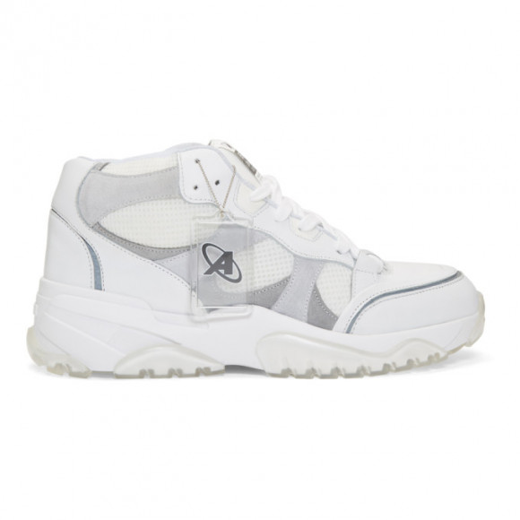 Axel Arigato SSENSE Exclusive White Catfish High Top Sneakers - 29039