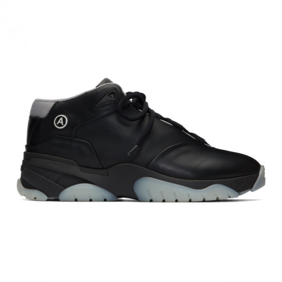 Axel Arigato Black Catfish Hi V2 Sneakers - 29059