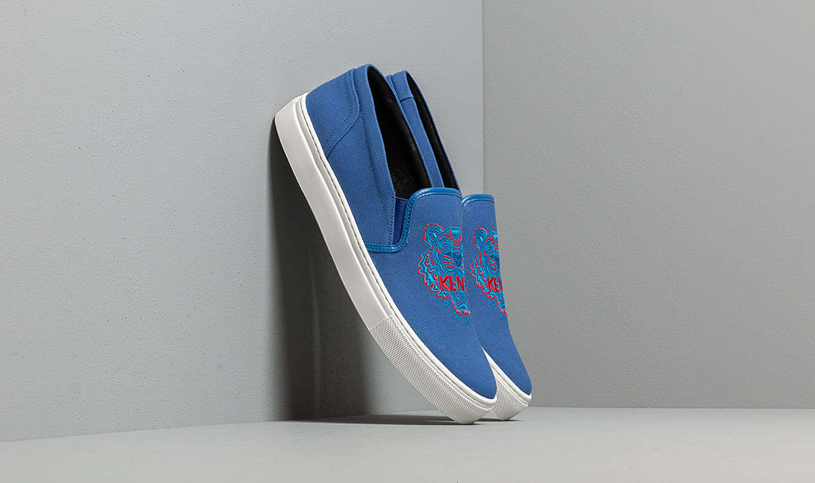KENZO K-Skate Sneakers Tiger French Blue - 2SN100 F70 74 W