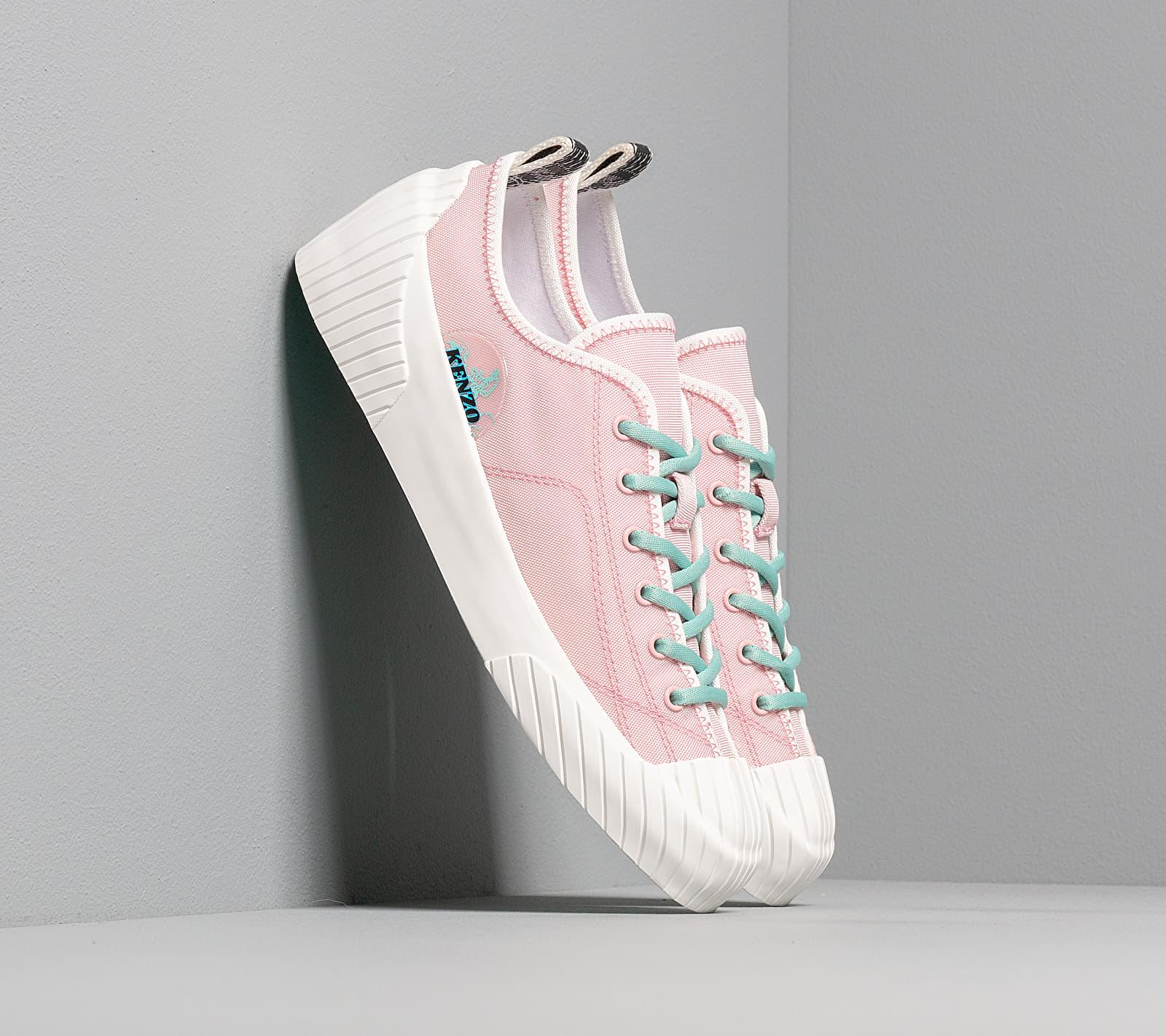 Kenzo Volkano Low Top Sneakers Rose Clair - 2SN163-F54-34