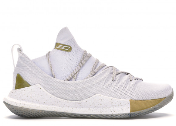 Under Armour Curry 5 White Gold - 3020657-100