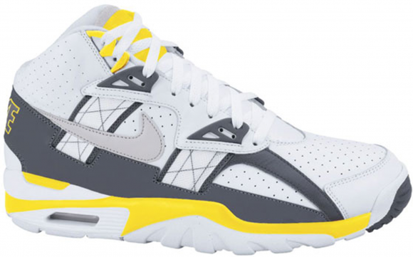 Nike Air Trainer SC High White Grey Lemon - 302346-109
