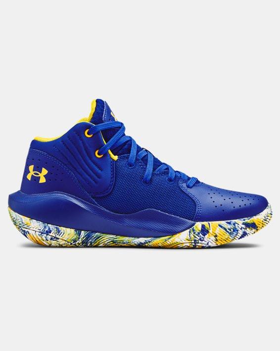 Chaussures de basket Grade School UA Jet '21 - 3024794-400