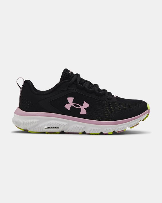 Women's UA Charged Assert 9 Marble Running Shoes - 3024853-001