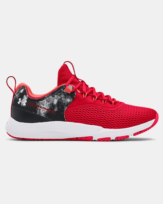 Men's UA Charged Focus Print Training Shoes - 3025100-600