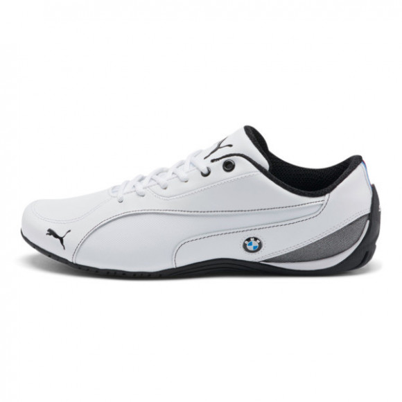 Puma Drift Cat 5 x BMW M Motorsport Lace Up Sneakers Casual Shoes White- Mens- Size 11.5 D - 304879-04