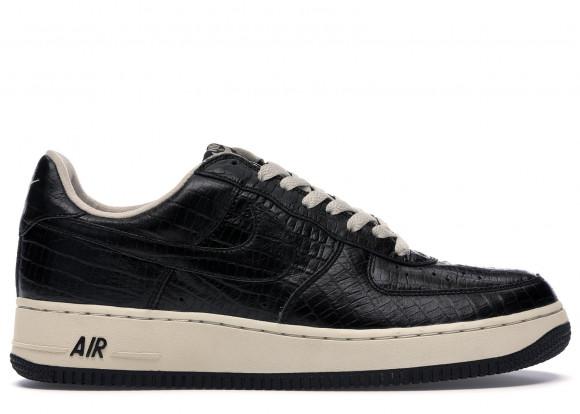 Nike Air Force 1 Low HTM 2 Black Croc
