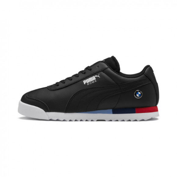 PUMA Boys PUMA Roma - Boys' Grade School Shoes Black Size 04.0 - 306434-01