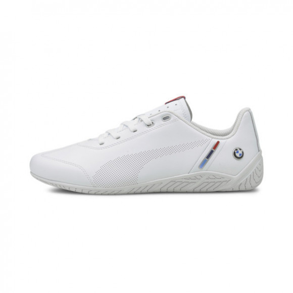 PUMA BMW M Motorsport Ridge Cat Men's Motorsport Shoes in White - 306635-02