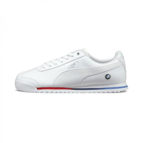 PUMA BMW M Motorsport Roma Men's Sneakers in White - 306638-02