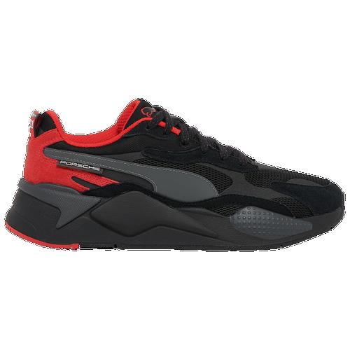 PUMA RS-X - Men's Running Shoes - Black / Red - 30675001-001