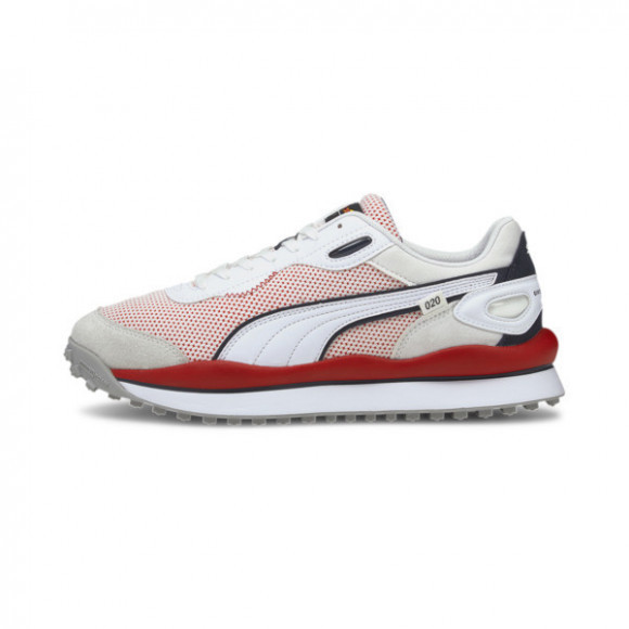 PUMA Red Bull Racing Style Rider Men's Sneakers in White - 306784-02
