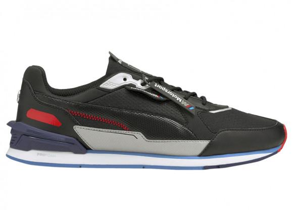 PUMA BMW M Motorsport Low Racer Men's Sneakers in Black/Marina/White - 306805-01