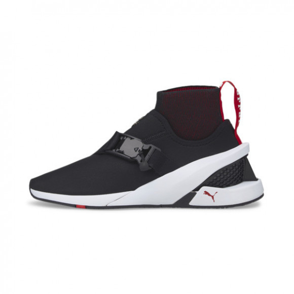 PUMA Ferrari IONF Motorsport Shoes in Black/White - 306806-01