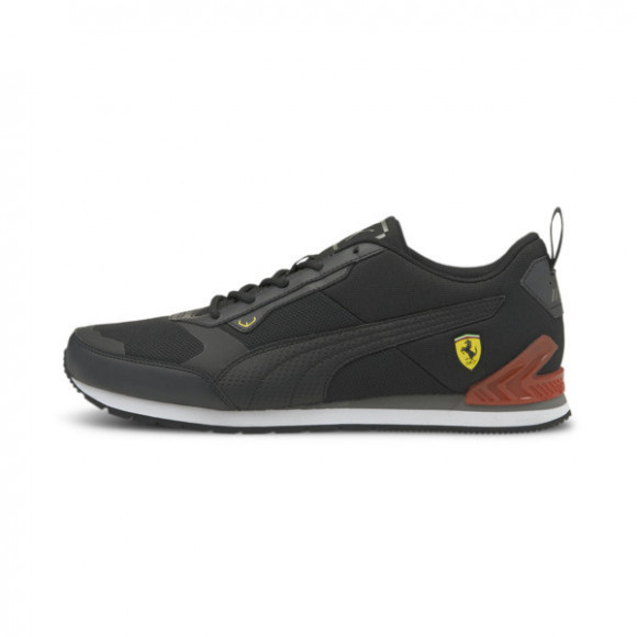 PUMA Scuderia Ferrari Track Racer Motorsport Sneakers in Black/Saffron - 306858-01