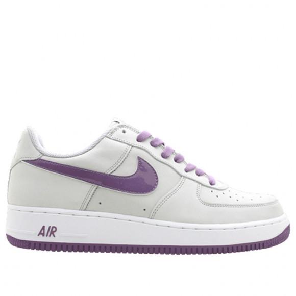 Nike Womens WMNS Air Force 1 Neutral Grey/Quartz-White Sneakers/Shoes 307109-052 - 307109-052