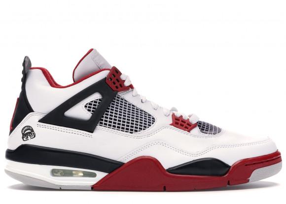 Jordan 4 Retro Fire Red Mars Blackmon - 308497-162