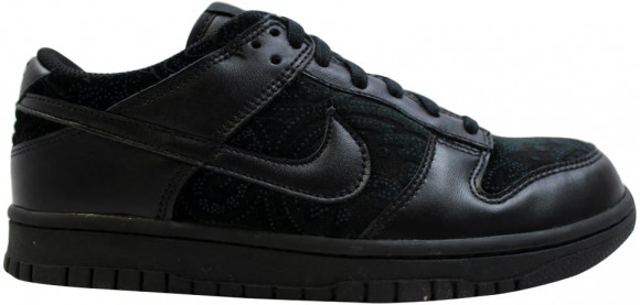 Nike Dunk Low Black/Black (W) - 309324-002