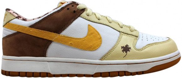Nike Dunk Low Premium White/Dijon-Lemonade (W) - 309730-131