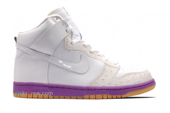 Nike Dunk Hi Deluxe White Purple 312032-111 - 312032-111