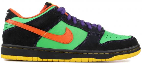 Nike SB Dunk Low Green Spark Hoop Orange - 313170-381