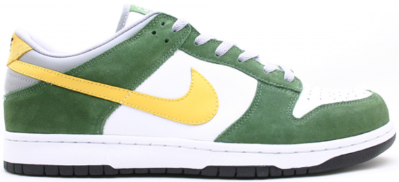 Nike Dunk Low 6.0 White Dijon Tree Line - 313439-131