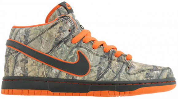 Nike Dunk SB Mid Real Tree Camo - 314381-300