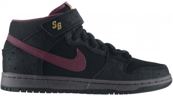 Nike Dunk SB Mid Black Ostrich
