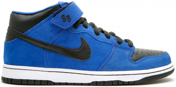Nike SB Dunk Mid Royal Blue Black - 314383-402