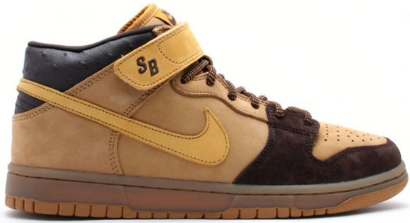 Nike SB Dunk Mid Wheat Bronze - 314383-771